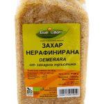 Нерафинирана захар от висококачествена биологично култивирана захарна тръстика.