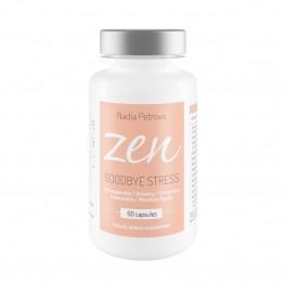 Zen Goodbye Stress - хранителна добавка с адаптогени Надя Петрова - 60 капсули