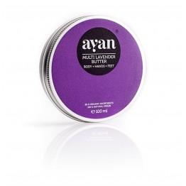 Мултифункционално масло с лавандула Ayan - 100 мл