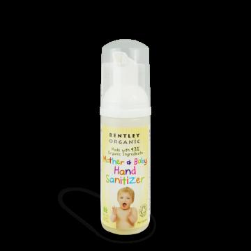 Био хигиенна пяна за ръце за бебета, деца и майки Bentley Organic