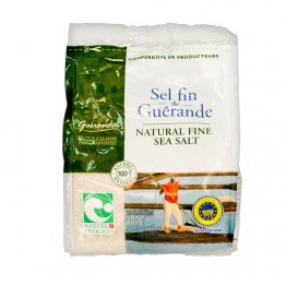Келтска морска сол фино смляна 500г - Le Guerandais