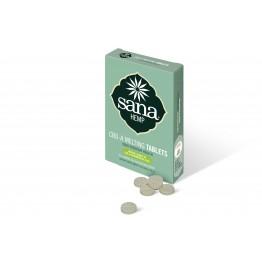 Бързо разтворими таблетки за смучене от Коноп 2мг CBDA 40 капс - Sana Hemp