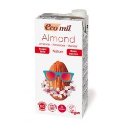 Био бадемово мляко без захар Eco mil - 1 л