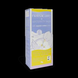 Превръзки за родилки натурални с био памук x 10 - Natracаre