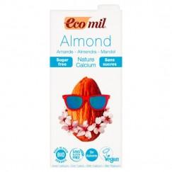 Био бадемово мляко натурално с калций Eco mil - 1 л