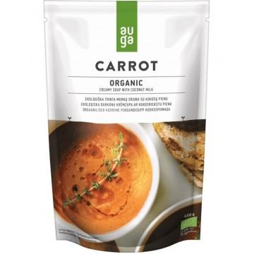 Био крем супа от моркови с кокосов мляко Auga - 400гр