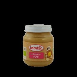 Био плодово пюре с круши Babybio - 130 гр