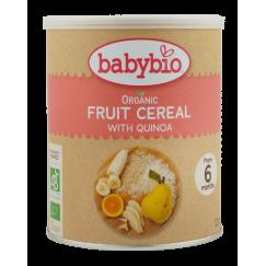 Био каша за бебета с киноа и плодове +6 мес. Babybio - 220 гр