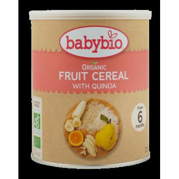 Био каша за бебета с киноа, плодове, зърнени храни +6 мес. Babybio 220г
