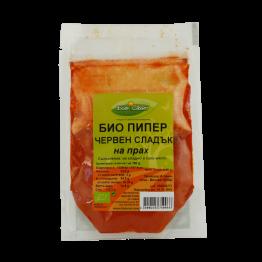 БИО червен пипер сладък на прах Биосвят - 40г