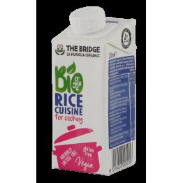 Oризов крем алтернатива на сметаната, без мляко The bridge - 200 мл