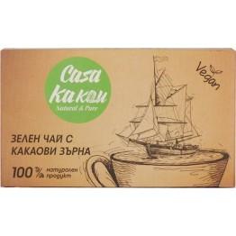 Зелен чай с какаови зърна Casa Kakau - 36 гр