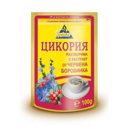 Цикория разтворима с екстракт от червена боровинка - 100 г