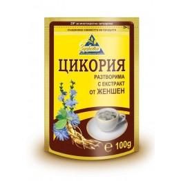 Цикория разтворима с екстракт от Женшен - 100 г