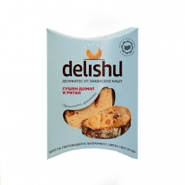 Веган сирене от кашу, сушени домати и риган Delishu/Делишу Somavital - 100 гр