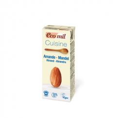Био бадемова сметана за готвене Eco mil- 200 мл