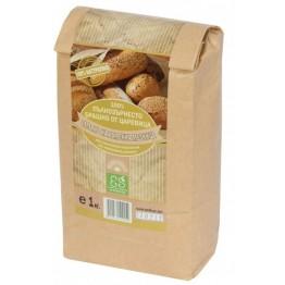 Пълнозърнесто брашно от царевица Ecosem - 1 кг