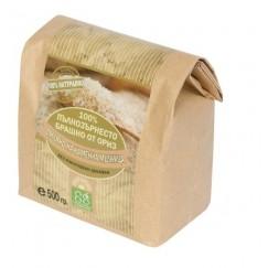 Пълнозърнесто брашно от ориз Ecosem - 0.500 кг