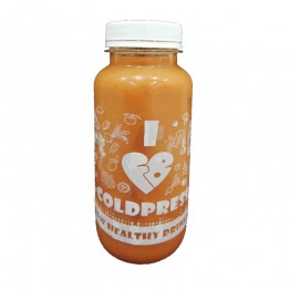 Студено пресован сок от морков, портокал и джинджифил Fresh Brothers - 260 мл