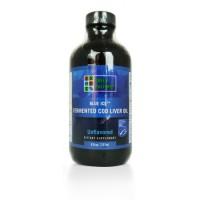 Рибено масло от черен ферментирал дроб на риба треска Green Pasture - натурално / канела / мента / портокал - 237 мл