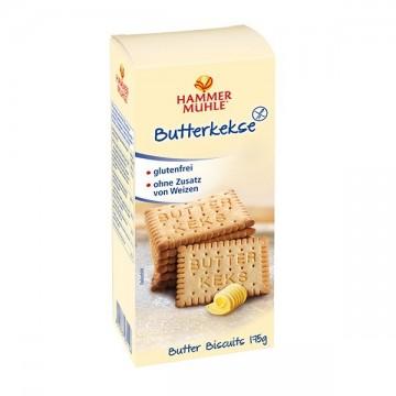 Безглутенови обикновени бисквити с масло 175 гр - HAMMER MÜHLE