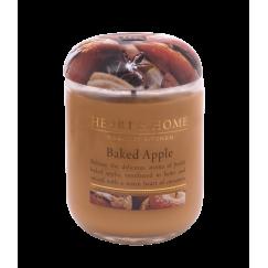 Ароматна свещ Печена ябълка H&H - 115 гр / 340 гр