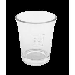 Стъклена чашка за свещ H&H