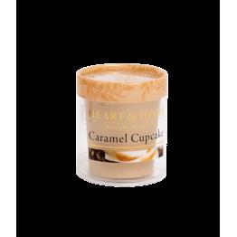 Ароматна свещ Карамелено кексче H&H - 52 гр