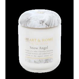 Ароматна свещ Снежен ангел H&H - 115 г