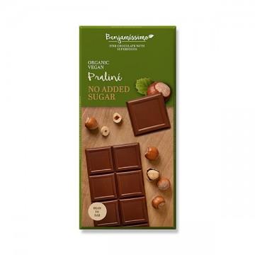 Шоколад с лешникова паста без добавена захар Benjamissimo - 70 г