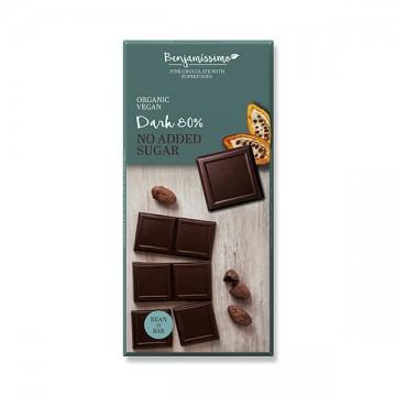 Био натурален шоколад 80% без добавена захар Benjamissimo -70 г