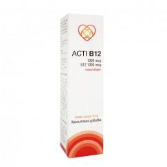 Акти B12 (хидроксокобаламин) / Acti B12 (hydroxocobalamin) 1000 mcg / 5000 mcg