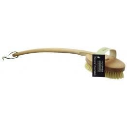 Четка с естествен косъм и подвижна дръжка, средна твърдост, Hydrea London