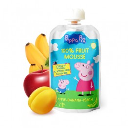 100 % плодов мус Peppa Pig - 90 г