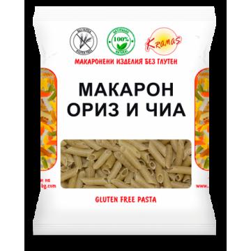Макарони с ориз и чиа Kramas - 250 г