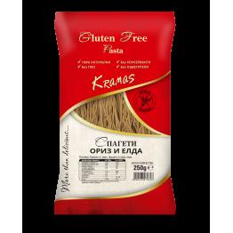 Спагети ориз и елда Kramas - 250 гр