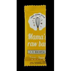 Суров бар кокос и лимон Mama s raw bar - 30 гр