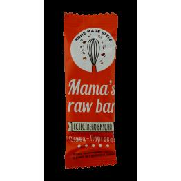 Суров бар слива и портокал Mama s raw bar - 30 гр