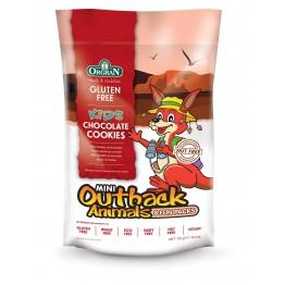 Безглутенови мини шоколадови бисквитки животни Orgran - 175г