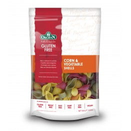 Паста мидички от царевица и зеленчуци Orgran - 250 г