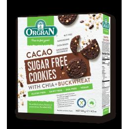 Безглутенови бисквити с какао без захар Orgran - 130г