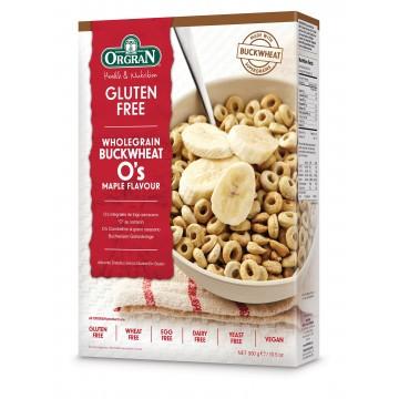 Пълнозърнеста закуска с елда и кленов вкус Orgran - 300 гр