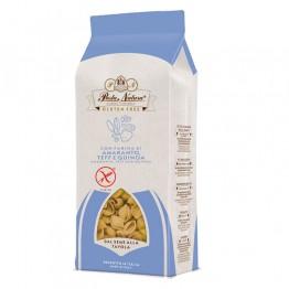 Италианска паста без глутен Амарант, Теф и Киноа мидички Pasta Natura - 250 г