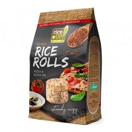 Мини оризовки от пълнозърнест кафяв ориз Rice Up - 50 г