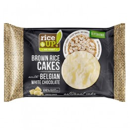 Оризови бисквити с Белгийски шоколад Rice Up - 30 г