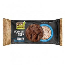 Оризови бисквити с белгийски шоколад Rice Up - 90 g