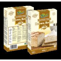 Безглутенов микс за Черен Хляб 400 г -   Sam mills