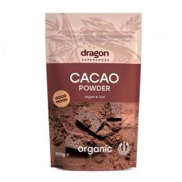 Какао на прах, сурово Dragon Superfoods - 200 гр