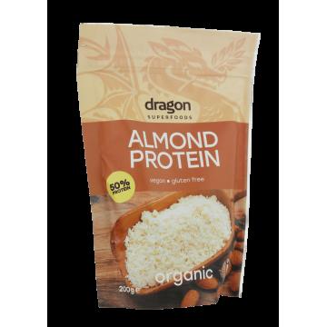 Бадемов протеин на прах 200 гр - Dragon Superfoods