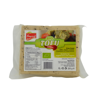 Био тофу с подправки Soyavit - 200 гр